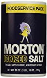 Morton Iodized Round Salt, 26 Ounce (Pack of 24)