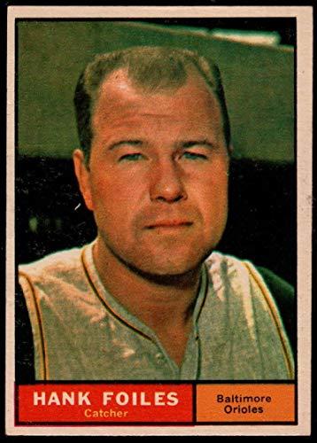 (Baseball MLB 1961 Topps #277 Hank Foiles Orioles)