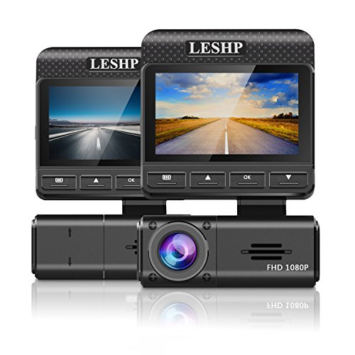 LESHP Dashboard Recorder Parking G Sensor