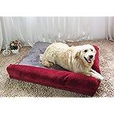MHGStore Luxury Large Dog Bed Sofa Dog Cat Pet Cushion for Big Dogs Washable Nest Cat