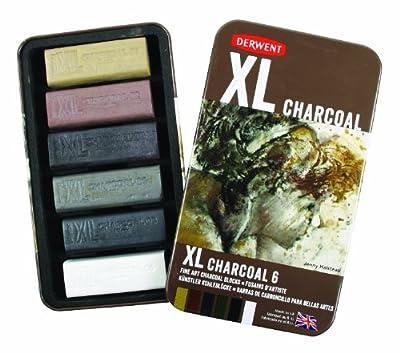 Derwent XL Charcoal Set of 6