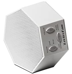 LectroFan - White Noise Machine with 10 Fan and 10 White Noise Sounds, White