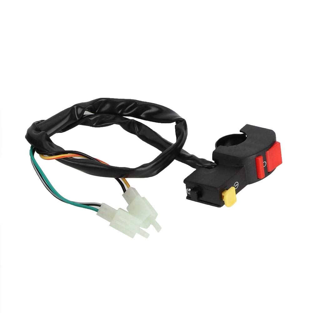 Akozon Full Wiring Harness Solenoid Coil CDI Relay Kit Fits for 150cc ATV Quad Accessory Ignition Coil Kit