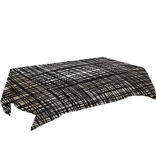 Black White Table Cloth (55