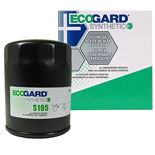 ECOGARD S195 Spin-On Engine Oil Filter for Synthetic Oil - Premium Replacement Fits Ford F-150, Taurus, Ranger, Mustang, Focus, Windstar, Escort, Edge, Freestar, E-150 Econoline, F-150 Heritage