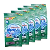 Aipow Convenience Travel Natural Fragrance Laundry Powder Sheet Soda Laundry Detergent (Travel, 90pcs (18pcsX5))