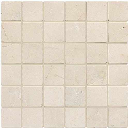 Dal-Tile M72222MSTS1P- Marble Tile, Crema Marfil Classico...