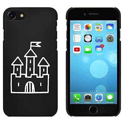 Schwarz 'Schloss mit Flagge' Hülle für iPhone 7 (MC00081325)
