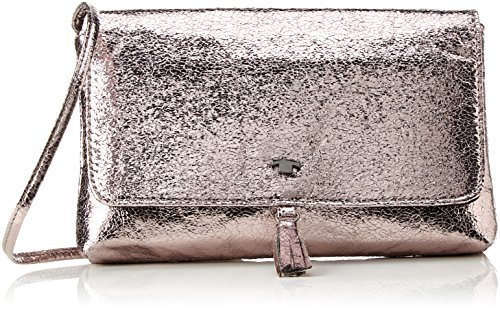 Tom Tailor Acc Jil - Bolsos maletín Mujer Plateado (Altsilber)