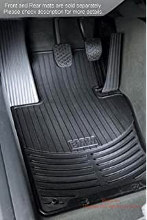 BMW X5 E70 Genuine Factory OEM 82550417964 All Season Front Floor Mats  Black 2007   2012