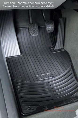 BMW 82-55-0-309-447 RUBBER FLOOR MATS ()