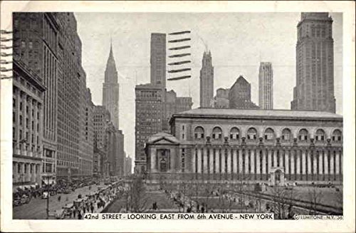 42nd Street, Looking east from 6th Avenue New York, New York Original Vintage - 6th Street 42nd Avenue