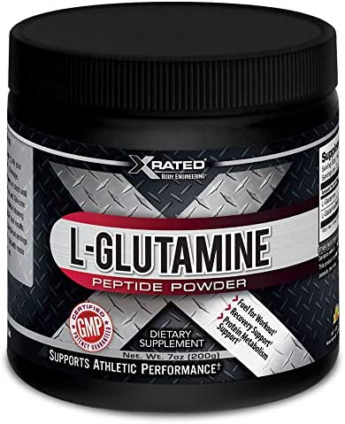 Xrated Body Engineering L-Glutamine Peptide Powder 200 Grams
