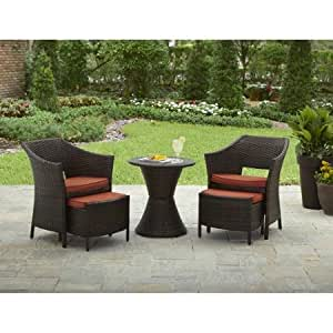 5 Piece Dining Sets Better Homes And Gardens Mira Bay Patio Furniture Table And
