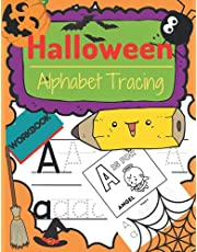 Halloween Alphabet Tracing Workbook: Halloween Letter Tracing Book for Kids| Tracing Practice| Perfect Gift | For Toddlers Preschoolers