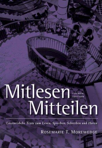 Mitlesen Mitteilen: Literarische Texte zum Lesen, Sprechen, Schreiben und Hören Pdf