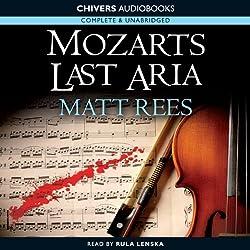 Mozart's' Last Aria