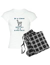 CafePress - I'm A Llama - Womens Novelty Cotton Pajama Set, Comfortable PJ Sleepwear