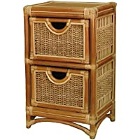 Spice Islands 2 Drawer Unit, Natural