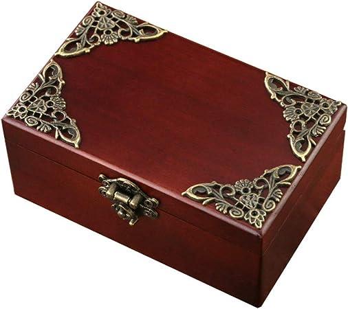LHs stores Caja Musical Caja de música con Almacenamiento de Joyas, Caja de música Antigua, Regalo de cumpleaños/Festivo para Amigos/Madre Cajas de Musica (Color : Natural): Amazon.es: Hogar