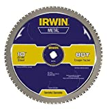 IRWIN Tools Metal-Cutting Circular Saw Blade, 14-inch, 80T (4935559)