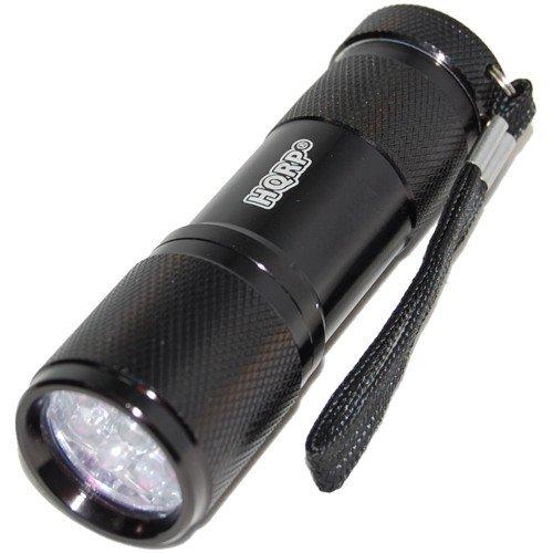 HQRP KIT: 10-pack 6-Volt Batteries for PetSafe RFA-67 RFA-67D RFA-67D-11 Replacement plus Pocket Urine Detector UV LED Blacklight Flashlight plus HQRP Coaster