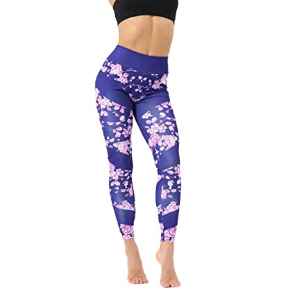 Amazon.com: Zcxaa Soft Yoga Pants with Pockets Women Sexy ...
