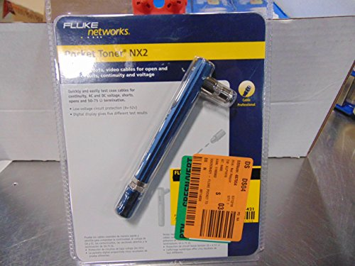 Fluke Networks PTNX2 Pocket Toner NX2 Coax Cable Tester