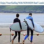NONMON-Leash-da-SUP-Surf7mm-8mm-8-10-11-Piedi-Lacci-di-Sicurezza-da-Tavola-de-SurfTPU-Guinzaglio-Regolabile-SpiraleCordone-ForteAccessoro-per-Stand-Up-Paddle-Board-SUP-Shortboard