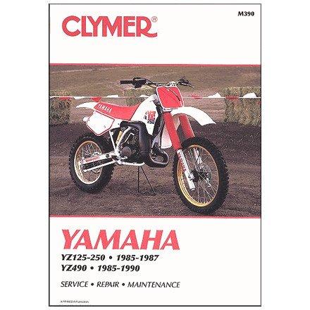 amazon com 85 87 yamaha yz250 clymer service manual automotive rh amazon com yz250 service manual pdf free 2003 yz250 service manual