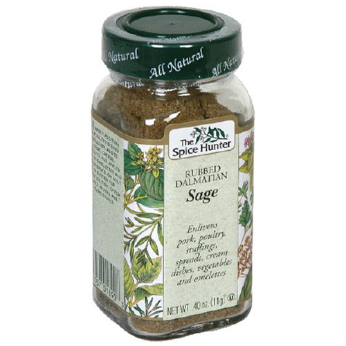 Spice Hunter Sage, 0.4-Ounces (Pack of 6) by Spice Hunter