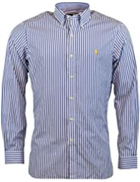 Men's Classic Fit Button-Front Shirt