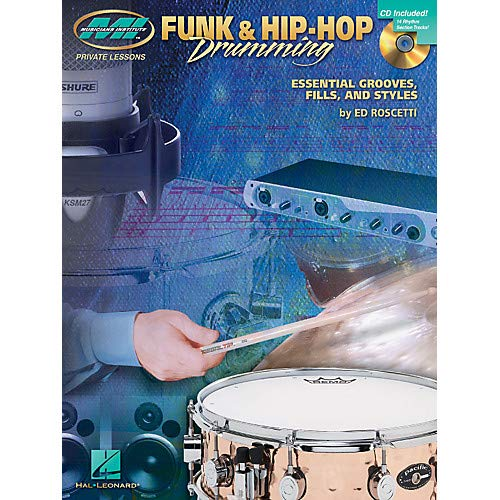 Funk Hip-Hop Drumming Musicians Institute Press Series Softcover with CD Pack of 2