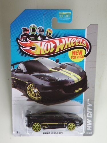 lotus-evora-gt4-black-diecast-car-hot-wheels2012