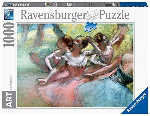 Ravensburger 14847 Degas Four Ballerinas On The Stage Puzzle Foto E Paesaggi 1000 Pezzi