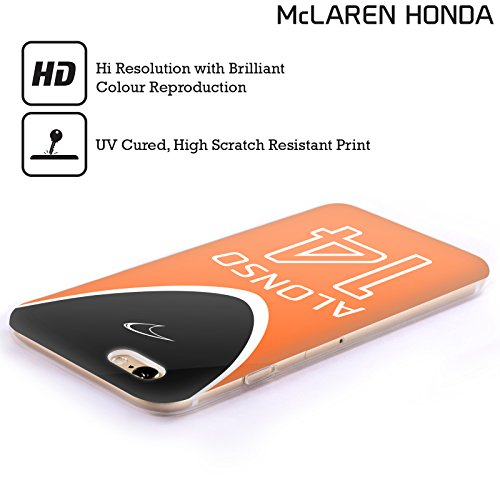 Officiel McLaren Honda MCL32 Fernando Alonso 2017 Art Clé Étui Coque en Gel molle pour Apple iPhone 5c