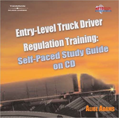 Study Guide on CD-ROM for Adams' Entry Level Truck Driver Regulation Training