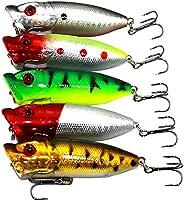 wvcetgbwe Fishing Accessories Fishing Accessories5Pcs 6.5cm 13g Simulation Fish Freshwater Fishing Baits Lures