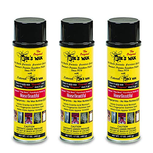 Bee's Wax Furniture Polish (3-Pack)