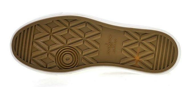 Louis Vuitton Tattoo Sneaker Boot Canvas 1A4Arg Black Zapatillas de Running para Hombre: Amazon.es: Zapatos y complementos