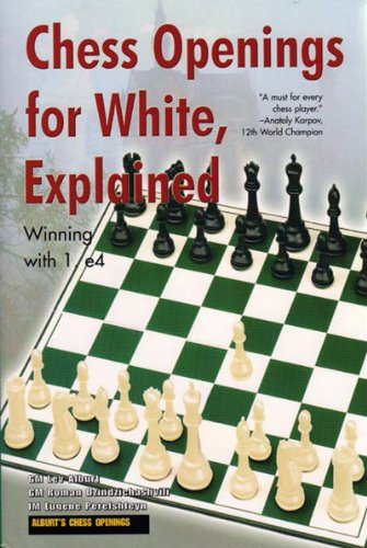 Chess Openings for White, Explained: Winning with 1. E4 (Alburt's Opening Guide, Book 1) - Center Game Chess