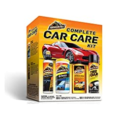 The Armor All Complete Car Care Kit delivers four proven Armor All products formulated to enhance your car's looks and protect your automotive investment. Includes Armor All Original Protectant, Armor All Ultra Shine Wash & Wax, Armor All...