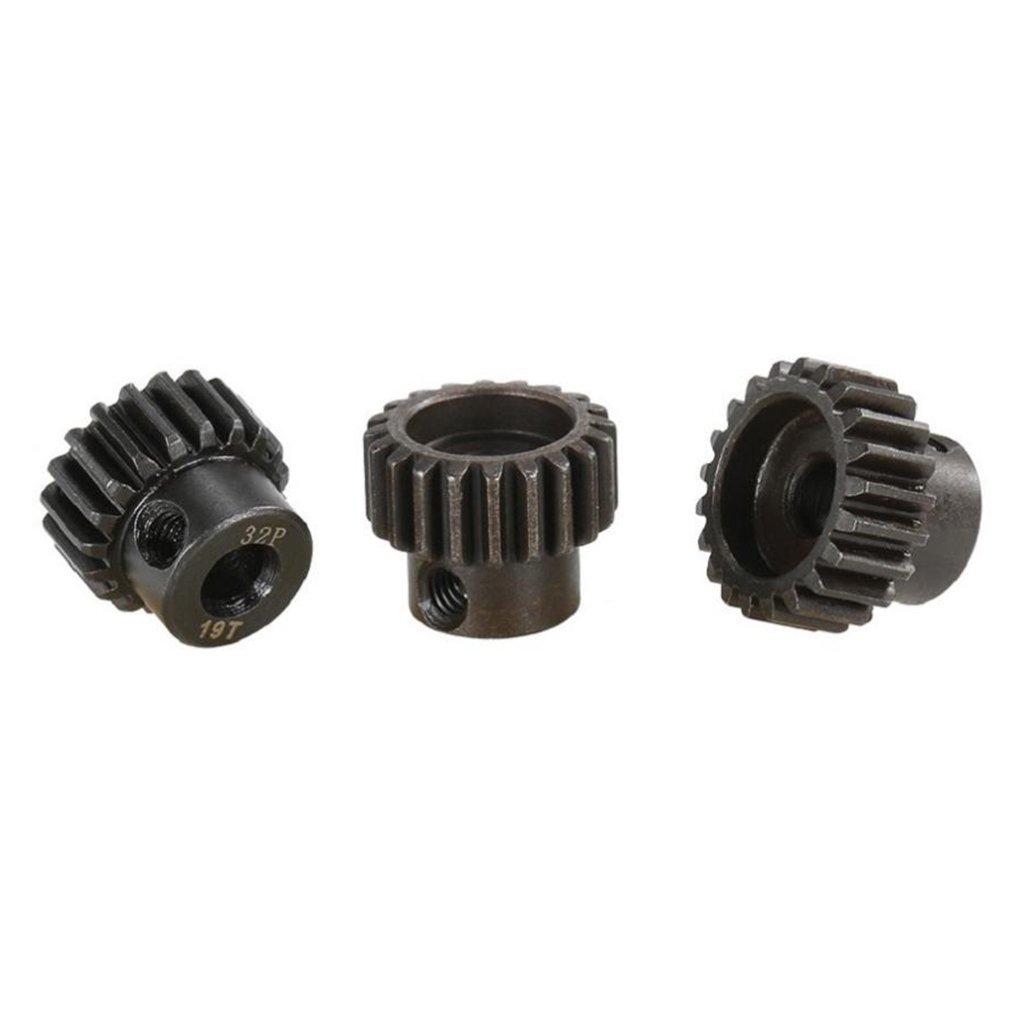 MagiDeal 32DP 5mm 19T-21T Pi/ñ/ón 32DP Motor Gears Set para 1//8 RC Coche
