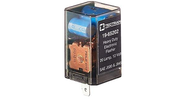 12 Lamps 2 Prongs Tectran 19-65122 Flasher 25 AMPS