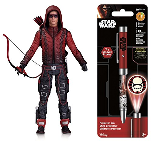 [Super Hero Arrow (TV Show): Arsenal Action Figure & Free Star Wars Projector Pen, Colors may vary] (Hulkbuster Costume For Kids)