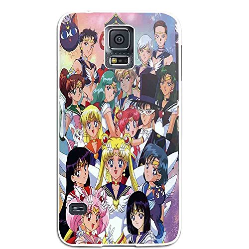 Character Costumes Australia (Sailor Moon All Characters for Iphone and Samsung Galaxy Case (Samsung Galaxy S5 white))