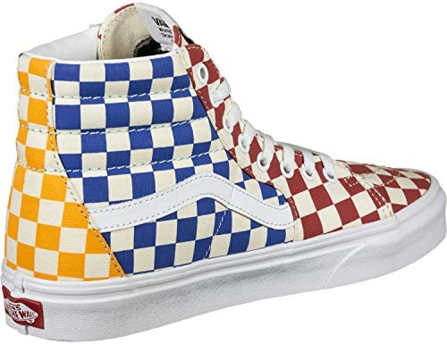 Vans SK8-HI (Checkerboard) Multi/True White