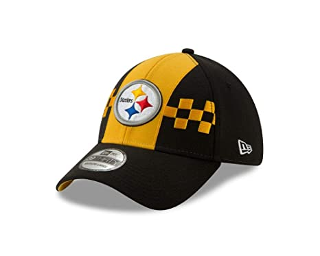 57728bfcd New Era 2019 NFL Pittsburgh Steelers Draft Hat Cap City Flag 39Thirty (S/M