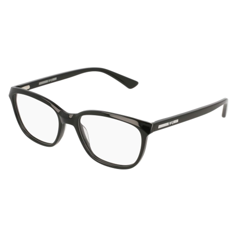 001 BLACK // Eyeglasses Alexander McQueen MQ 0110 OP
