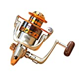 Goswot Left/right Interchangeable 12BB Ball Bearing Saltwater/ Freshwater Fishing Spinning Reel (EF500)